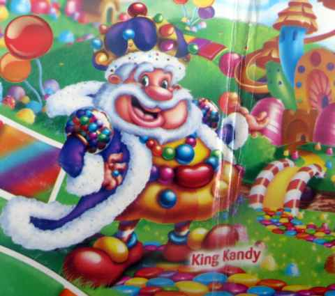 Candyland King Candy Prescription Pudding